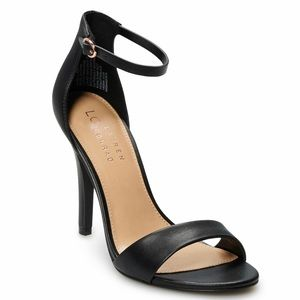 LC Lauren Conrad Hematite Women's Pumps